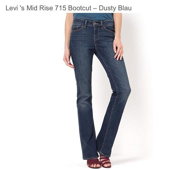 1d1e9fce2a Levi s Denim - Levi s 715 bootcut jeans in Dusty Blues
